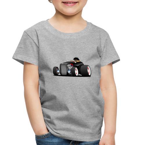 Classic Street Rod Hi Boy Roadster Cartoon - Toddler Premium T-Shirt