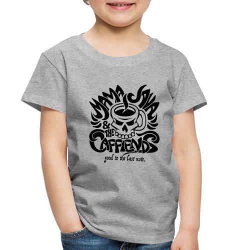 Mama Java & The Caffeinds Rock Band - Toddler Premium T-Shirt