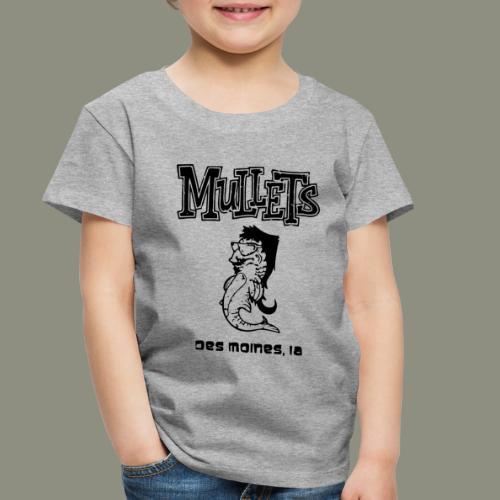 mulletmain black - Toddler Premium T-Shirt