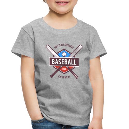 baseball - Toddler Premium T-Shirt