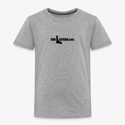 Official Rob Leatham Logo - Toddler Premium T-Shirt