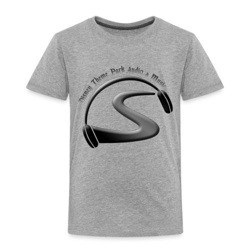 logo black on black - Toddler Premium T-Shirt