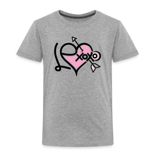 LEXoxo (Front & Left Sleeve T-Shirt) Kids - Toddler Premium T-Shirt
