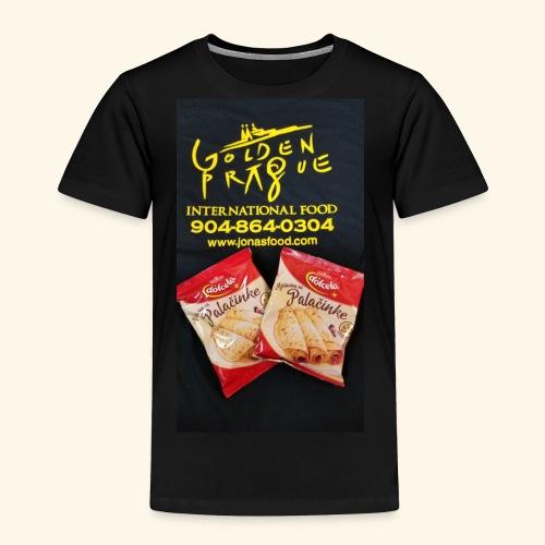 Golden Prague - Toddler Premium T-Shirt