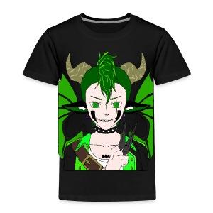 Anarchy punk demon by summer richey - Toddler Premium T-Shirt
