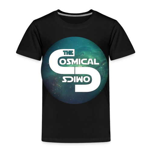 TheCosmicalComics logo - Toddler Premium T-Shirt