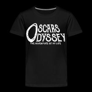 Oscars Odyssey Shirt White Logo - Toddler Premium T-Shirt