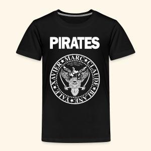 Punk Rock Pirates [legends] - Toddler Premium T-Shirt