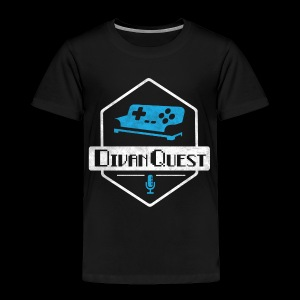 DivanQuest Logo (Badge) - Toddler Premium T-Shirt