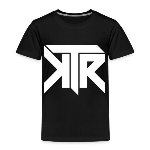 KTR Logo White - Toddler Premium T-Shirt
