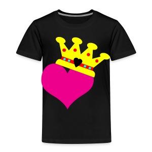 Lil Diamond's Fit for a Queen merch - Toddler Premium T-Shirt