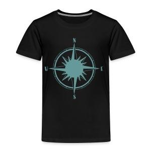 Nautical Sailing Compass - Toddler Premium T-Shirt