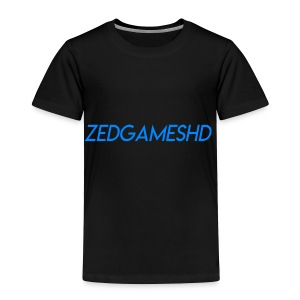 ZedGamesHD Logo - Toddler Premium T-Shirt