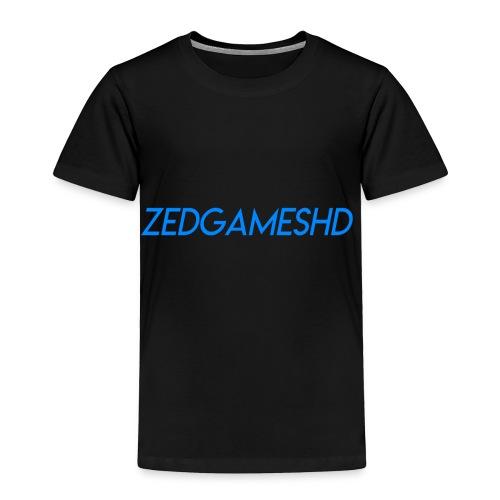 ZedGamesHD Logo - Toddler Premium T-Shirt