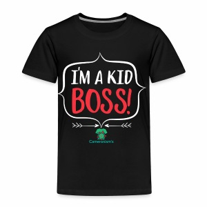 Kid Boss - Toddler Premium T-Shirt