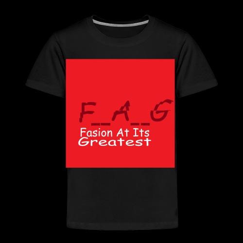 fag1 - Toddler Premium T-Shirt