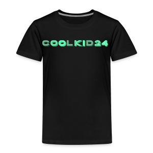 Cool kid 24 design - Toddler Premium T-Shirt