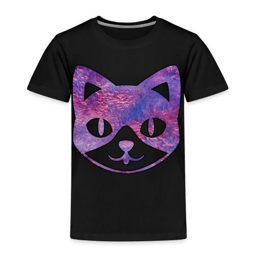 Pink Furry Kitty - Toddler Premium T-Shirt