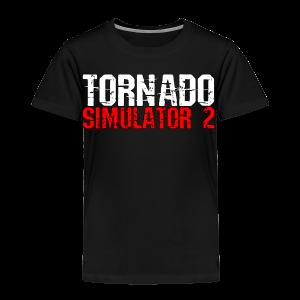 Tornado Simulator 2 T-Shirt - Toddler Premium T-Shirt