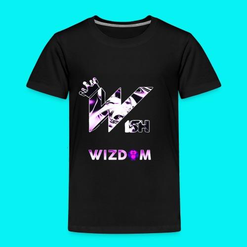 Wizdom 2.0 Logo - Toddler Premium T-Shirt
