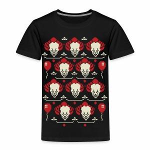 Ugly Clown Sweater - Toddler Premium T-Shirt