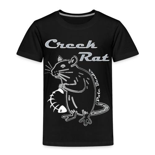 Creek Rat Fishbone - Toddler Premium T-Shirt