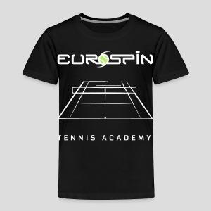 EuroSpin Tennis Design Eurospin Logo - Toddler Premium T-Shirt