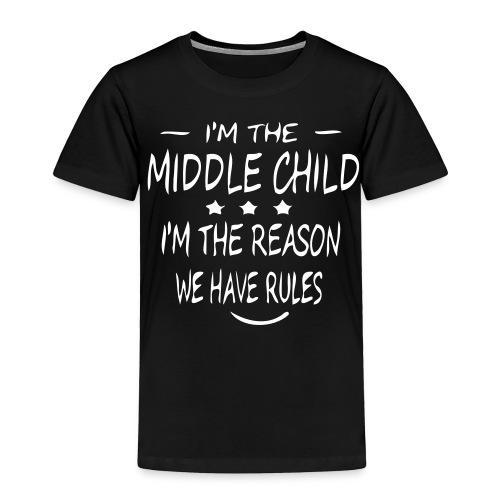 middle child - Toddler Premium T-Shirt