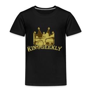 KingGeekly Gold - Toddler Premium T-Shirt