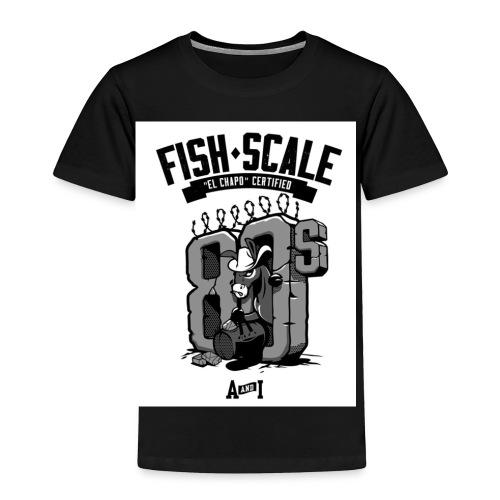 fish scale design - Toddler Premium T-Shirt