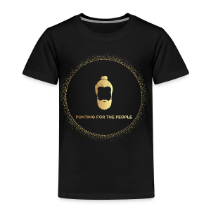 Punting For The People Print - Toddler Premium T-Shirt