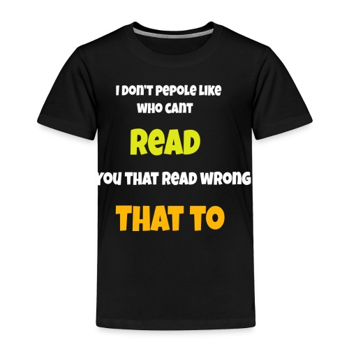 TRICKS - Toddler Premium T-Shirt