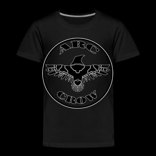 ARC CROW Logo in a circle - Toddler Premium T-Shirt
