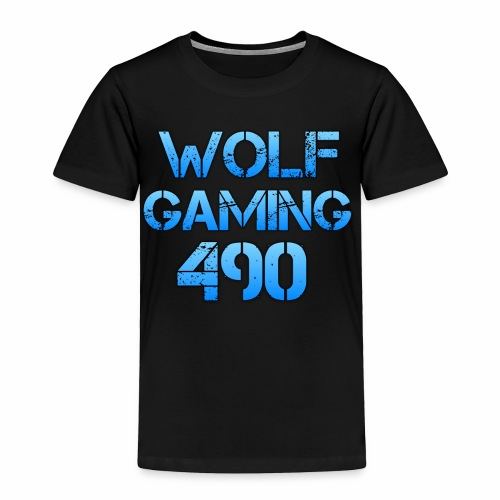 Wolfgaming490 Logo - Toddler Premium T-Shirt