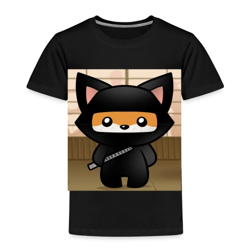 how-to-draw-a-ninja-fox_1_000000018972_5 - Toddler Premium T-Shirt
