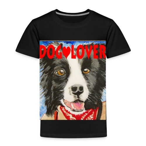 dog-lover border collie - Toddler Premium T-Shirt