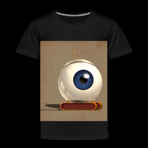 small Big eye robot - Toddler Premium T-Shirt