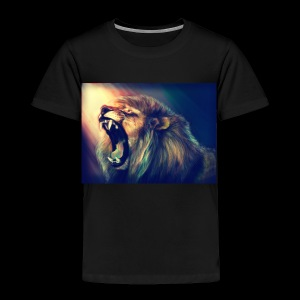 Lion Hoodie - Toddler Premium T-Shirt