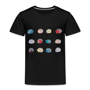Hedgehog - Toddler Premium T-Shirt