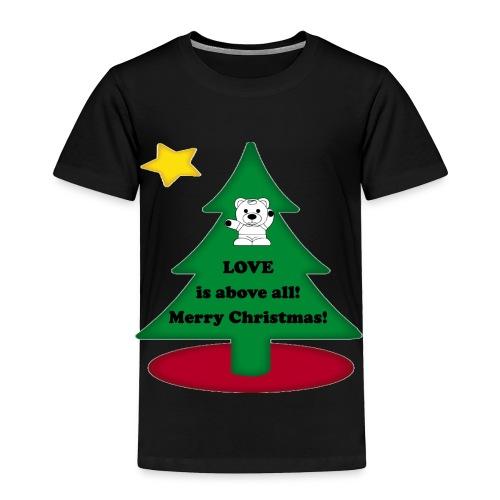 Christmas is love - Toddler Premium T-Shirt