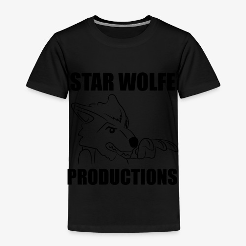 Star Wolfe Productions (Black) - Toddler Premium T-Shirt
