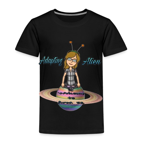 Adapting Alien 200 subscribers Limited time - Toddler Premium T-Shirt