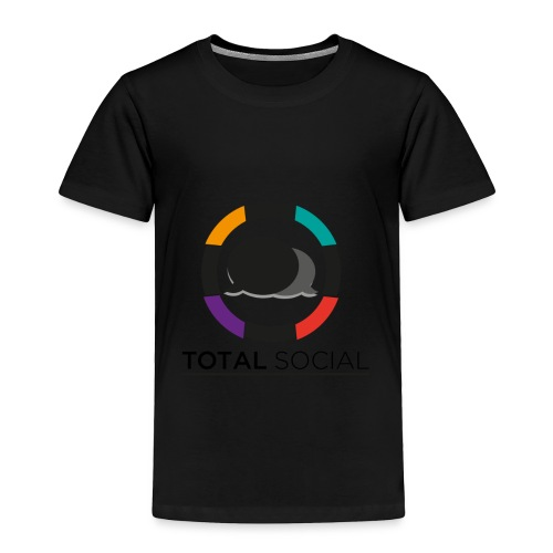 Logo_Total_Social_PNG_03 - Toddler Premium T-Shirt