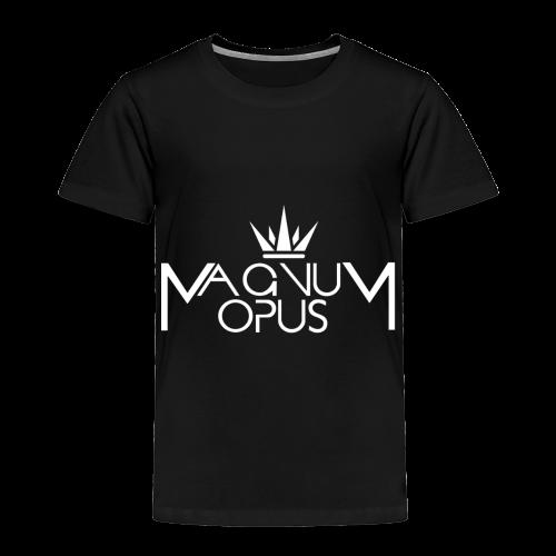 MOCC Magnum Opus WHT - Toddler Premium T-Shirt