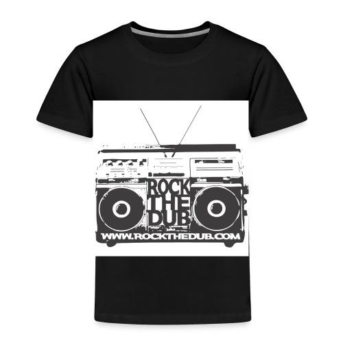 rockthedub.com logo - Toddler Premium T-Shirt