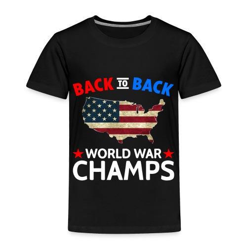 United States Patriot Champions - Toddler Premium T-Shirt