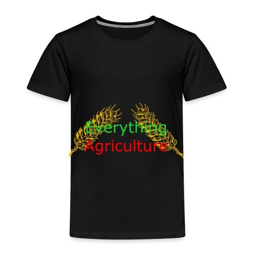 Everything Agriculture LOGO - Toddler Premium T-Shirt