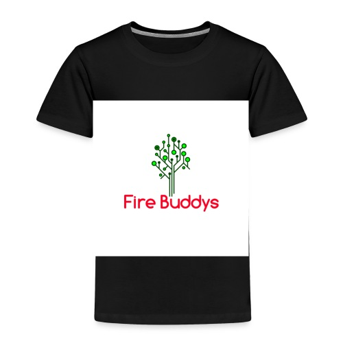 Fire Buddys Website Logo White Tee-shirt eco - Toddler Premium T-Shirt