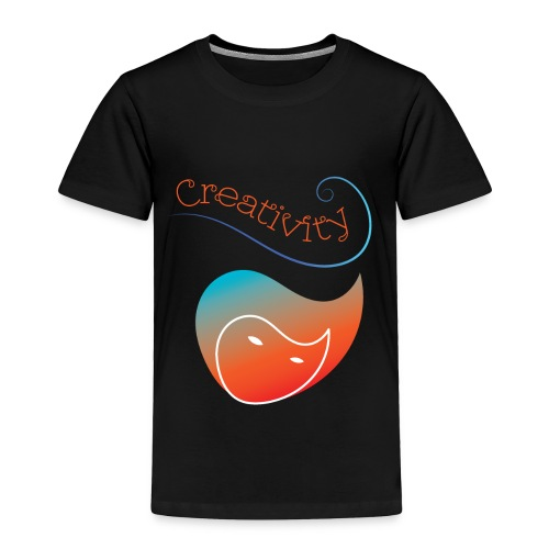 Curved Creativity - Toddler Premium T-Shirt
