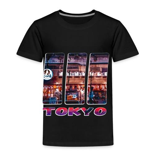 Tokyo Japan Nightlife Purple - Toddler Premium T-Shirt
